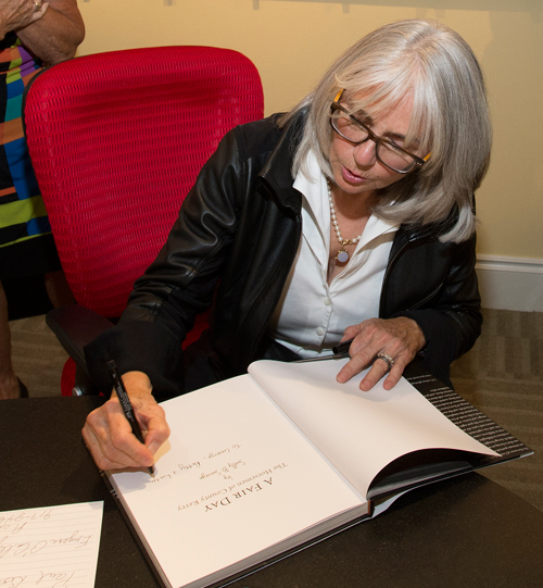 Sally-Savage-Author-Signing-Book